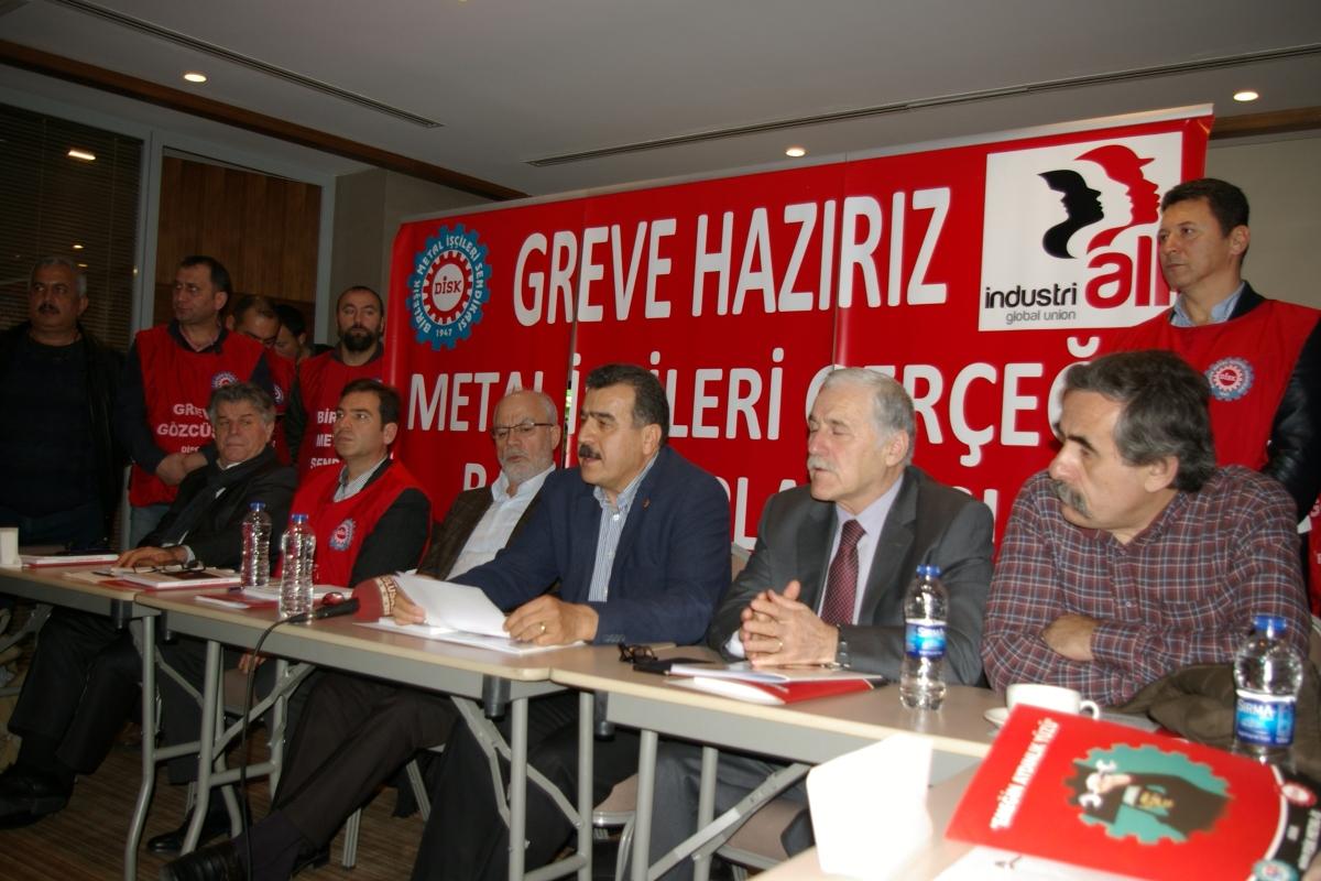 11 ilde 30 işyerinde 12 bin işçi greve çıkıyor